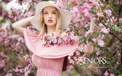 9 Amazing Cherry Blossom Senior Pictures